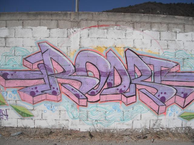 graffiti wall art Panajachel Guatemala