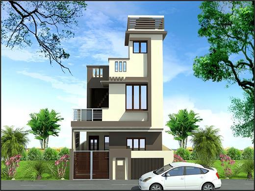 Ghorpadi Pune Duplex House Design