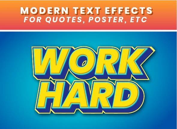 Modern Text Effects 28222525