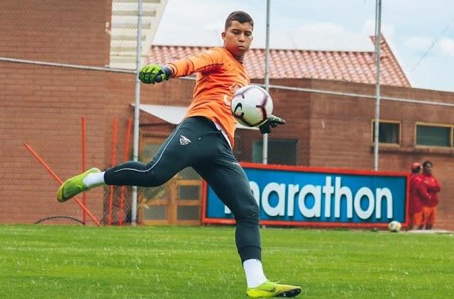 Leandro Romero, el arquero que salió del Manta FC y que espera ser protagonista en Liga Quito