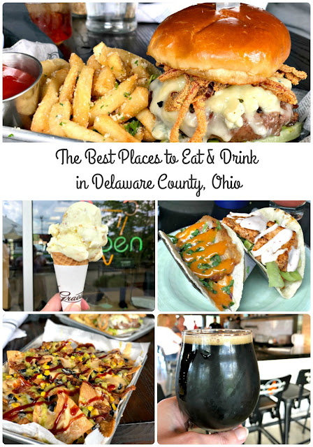 From locally owned restaurants, to breweries, & everything in between, here are my top 7 recommendations for the best places to eat & drink in Delaware County, Ohio.