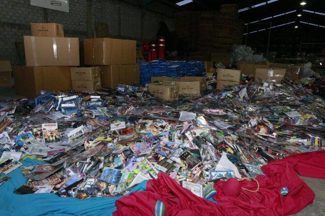 Fayuca y Cuchilla operan en total impunidad con piratería