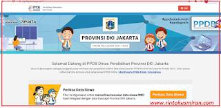 LINK PENDAFTARAN PPDB DKI JAKARTA TAHUN AJARAN 2021/2022 JENJANG SD, SMP, SMA/SMK