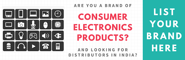 List Your Consumer Electronics Brand HERE...