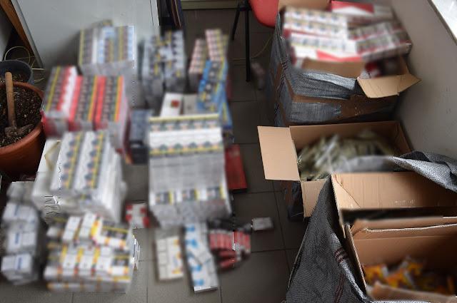 Κατασχέθηκαν 2.483 πακέτα με λαθραία τσιγάρα στην Αρκαδία