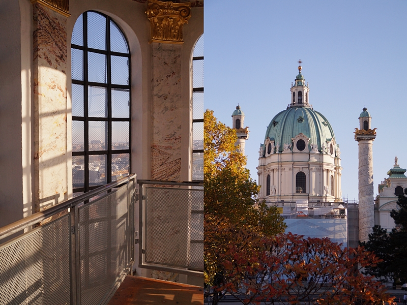 Kuppel und Fassade Karlskirche Wien