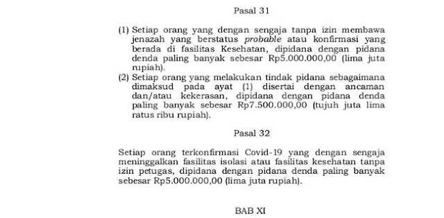 Tolak Diswab Test Covid-19, Jakarta Berlakukan Denda Rp 5 Juta