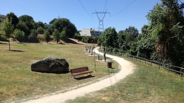 Parque da Quinta em Caldas das Taipas