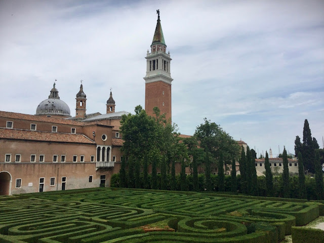 Music in the Maze: The Borges Labyrinth on the Island of San Giorgio Maggiore in Venice has its Own Soundtrack