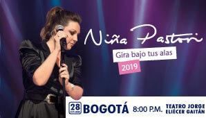 Concierto de NIÑA PASTORI en Bogotá