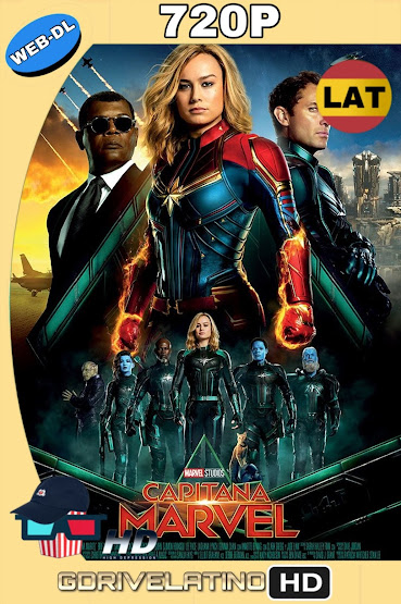 Capitana Marvel (2019) WEB-DL 720p Latino-Ingles MKV