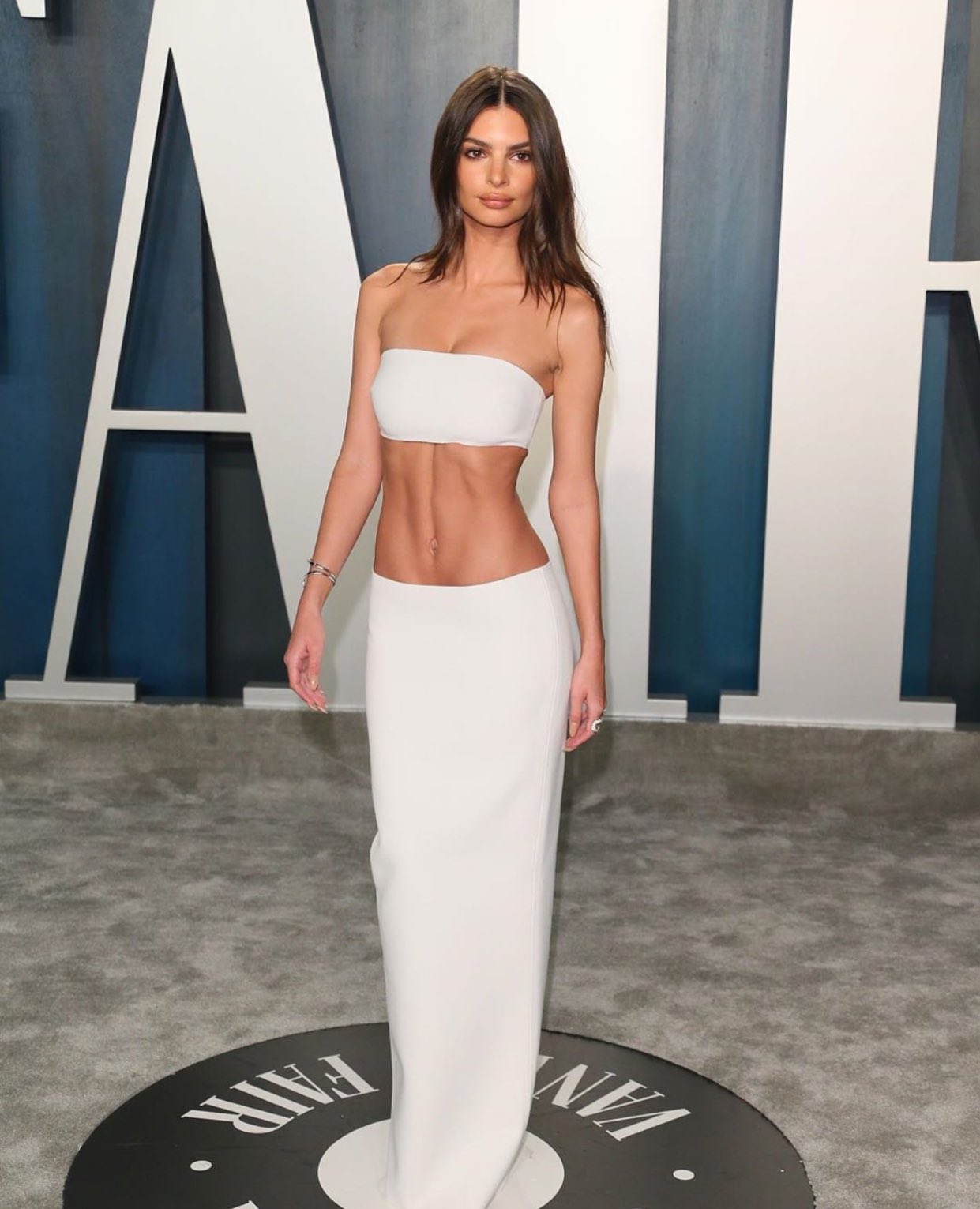 Emily Ratajkowski at the Vanity Fair Oscars Party