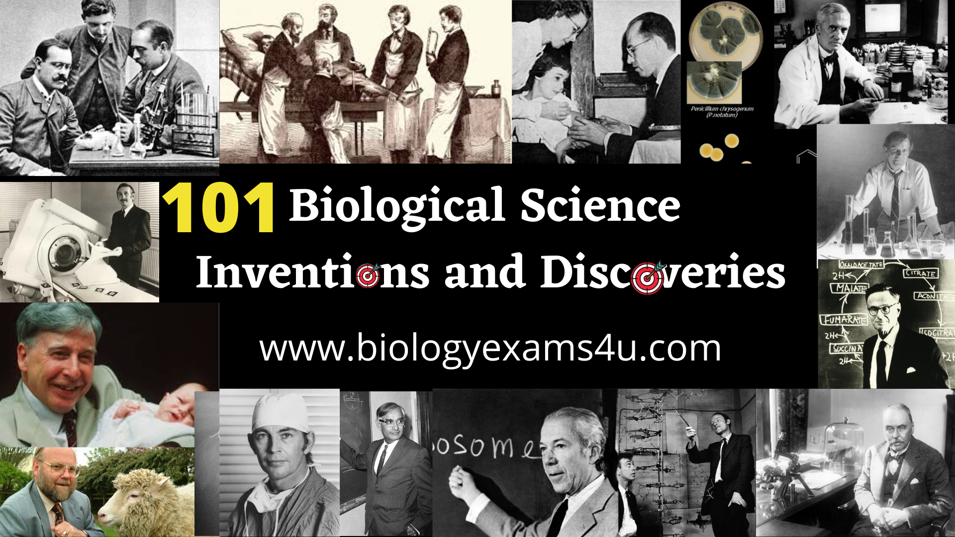 101 Biological Science Inventions and Discoveries