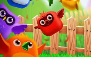 لعبة الطيور المتشابهة