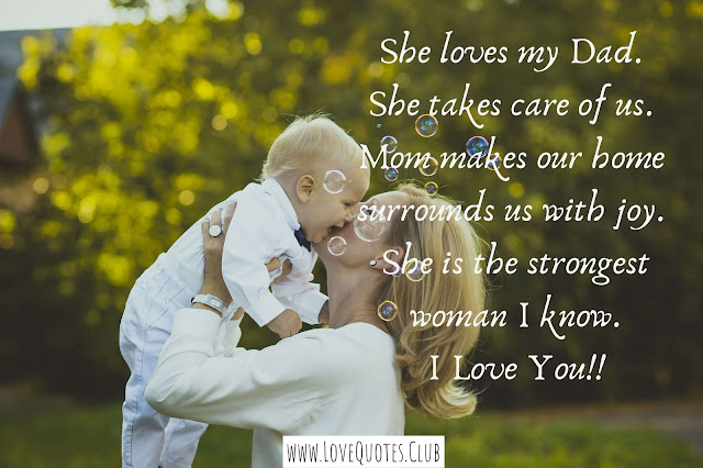 love quotes for mother and son