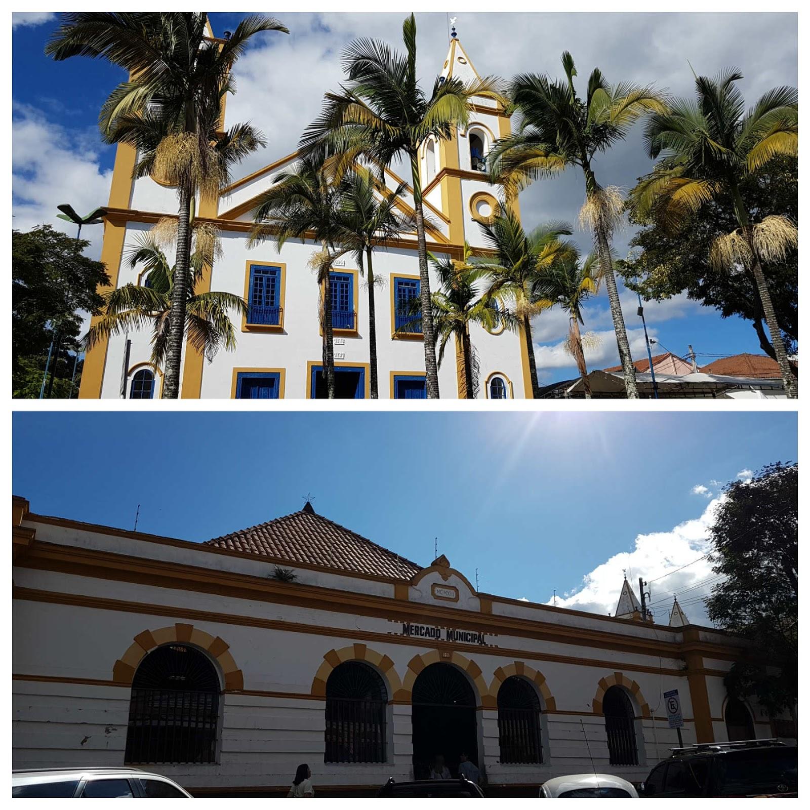 Centro histórico de Cunha, São Paulo.
