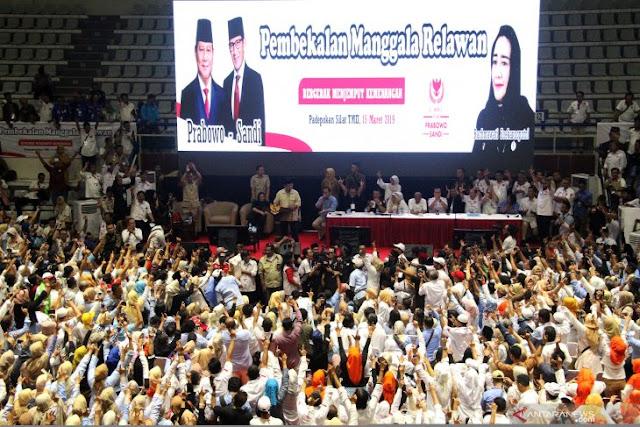 Prabowo: Rakyat Indonesia Tidak Mau Dibohongi Lagi