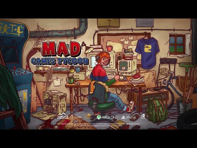 Mad Games Tycoon 2 İndir – Full Türkçe