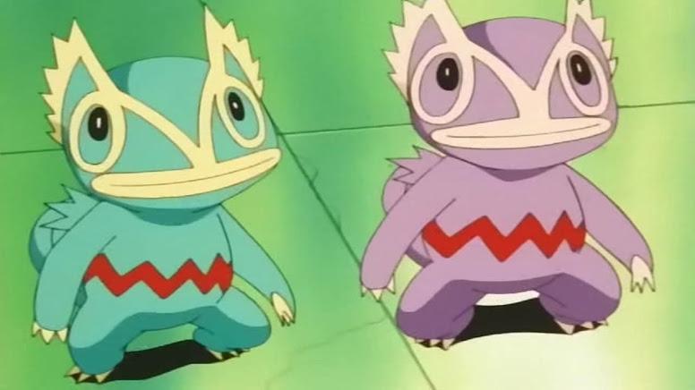 Kecleon Roxo Anime Pokémon
