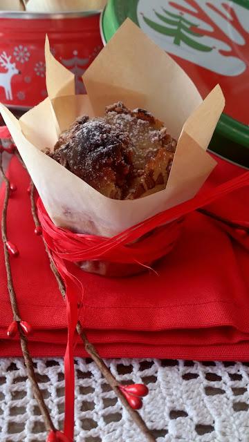 muffin magdalena chocolate vainilla bombón ferrero rocher navideño relleno rico horno navidad merienda desayuno postre grande gigante maxi