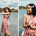 Polka Dot Dress || M's Journal & Rosewe
