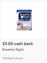 breath right ibotta offer