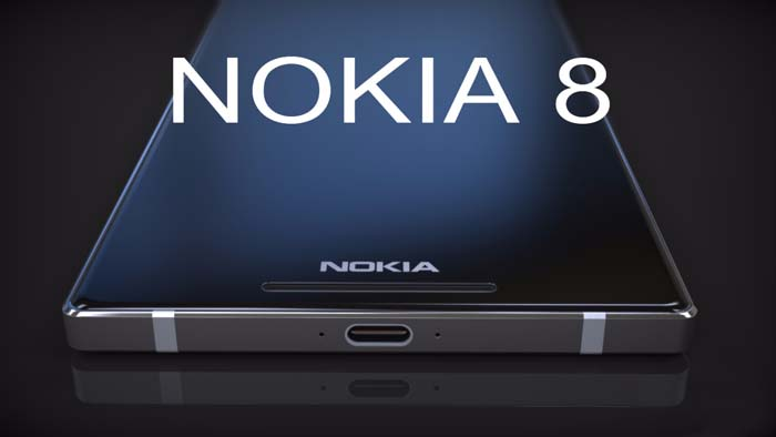 Spesifikasi Nokia 8