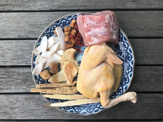 北芪黨參螺片瘦肉煲雞湯|生津養血、滋補養顏