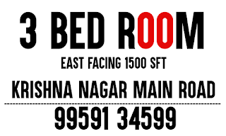 3 BHK Flat for Sale at Krishna Nagar