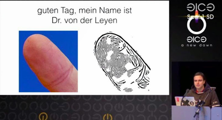 Hacker Clones German Defense Minister's Fingerprint Using Just her Photos