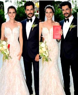 Fahryie si Burak la nunta