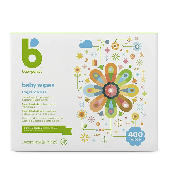 Babyganic Baby Wipes