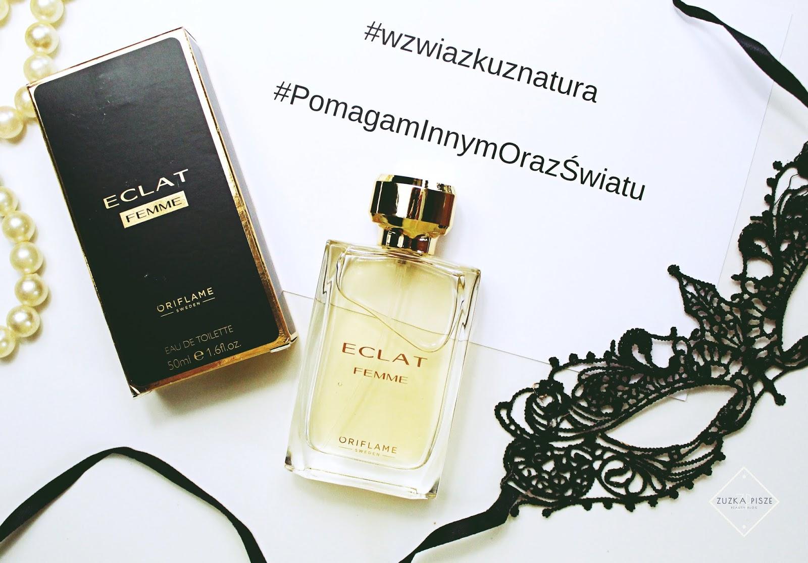Woda toaletowa ORIFLAME ECLAT Femme + Co zrobić z pustym flakonem po perfumach?