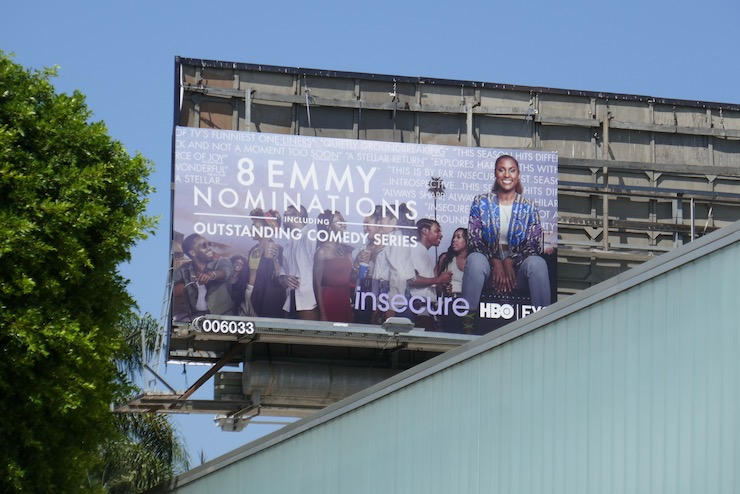 Insecure season 4 Emmy nominee billboard