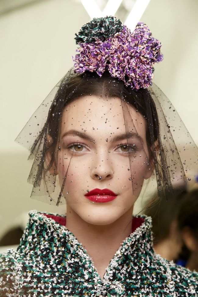 Chanel Haute Couture SS18, Chanel Haute Couture, Chanel Beauty