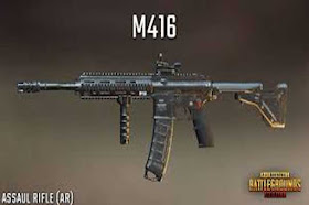 Assault Rifles M416 Weapons Detail 2020