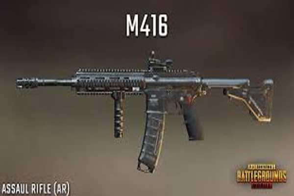 Assault Rifles M416 Weapons Detail 2020