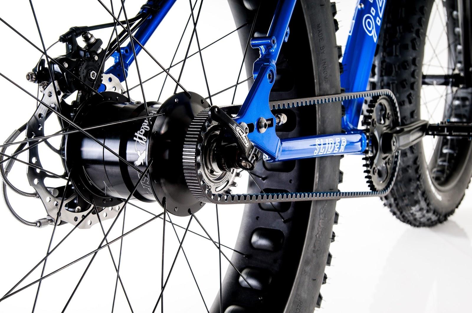 The Monkey Lab 9 Zero 7 Fat Bike With Rohloff Speedhub