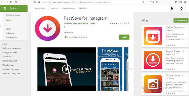 Aplikasi Android Untuk Download Video Dari Instagram