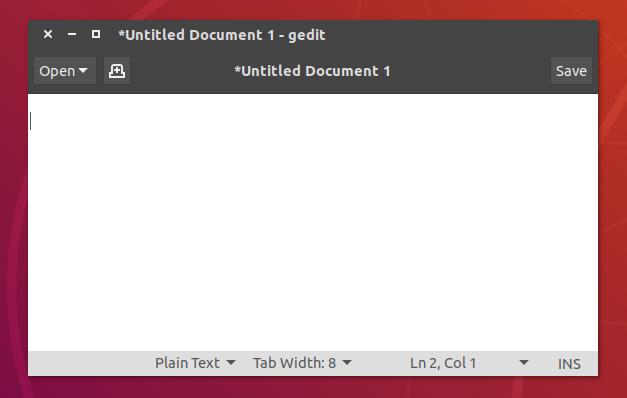 Gedit Unity Ubuntu 18.04 Numix