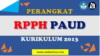 RPPH PAUD 1 LEMBAR TERBARU