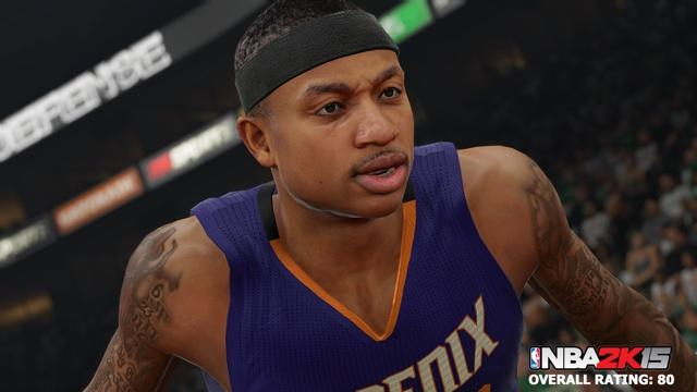 Isaiah Thomas NBA 2K15 Screenshot