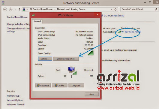Cara Mengatasi 'Limited' Wifi Pada Windows 8.1