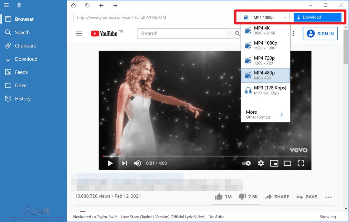 VDownloader 網路影片下載軟體