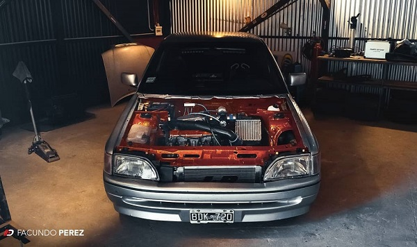 Sorteo Ford Escort 1.8 Turbo de Soulas Garage