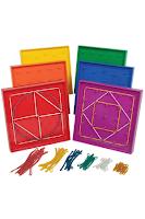 edxeducation Double-Sided Geoboard Set
