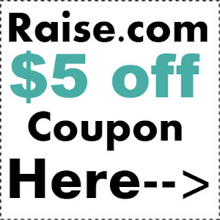 $5 off Raise.com Promo Code 2018, Raise Gift Card Referral Code 2018