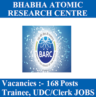 10th, BARC, Bhabha Atomic Research Centre, Clerk, freejobalert, Latest Jobs, Maharashtra, Sarkari Naukri, Technician, Trainee, UDC, Upper Division Clerk, barc logo