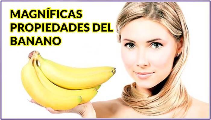 Todas las propiedades nutricionales del banano que mejoran tu salud y niveles de energía