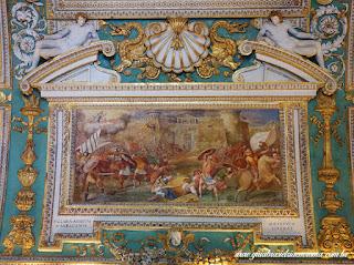 Afresco de Três tetos dos Museus Vaticanos